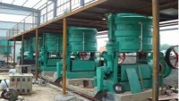 5TPD rice bran oil pressing line in Mexico