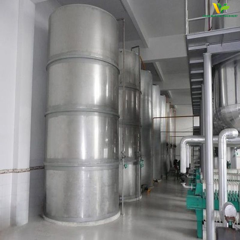 peanut oil process line