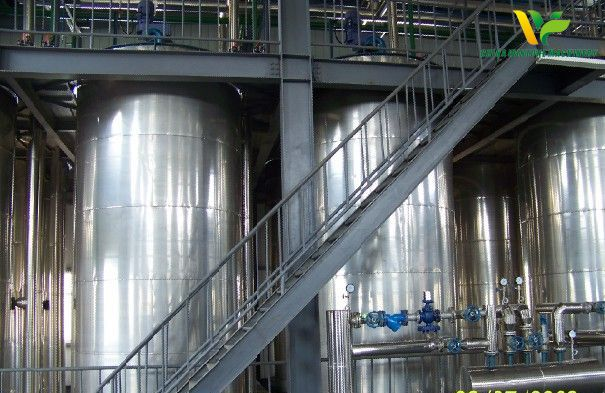 Crystal Jar for oil fractionation
